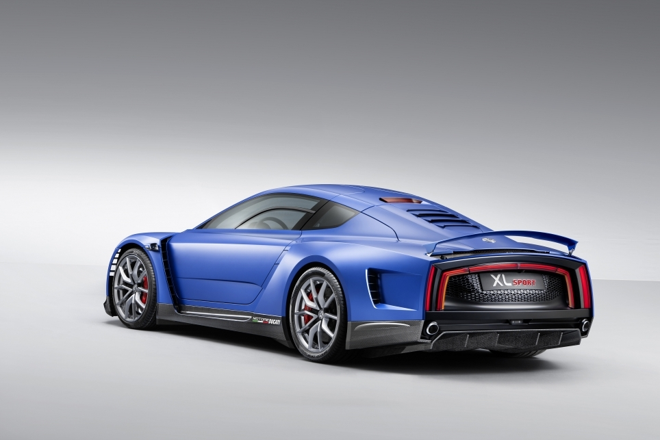Volkswagen XL Sport Concept - Mondial 2014 - Photo n°2