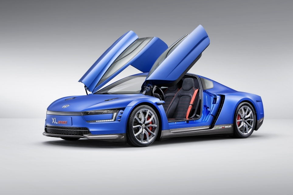 Volkswagen XL Sport Concept - Mondial 2014 - Photo n°3