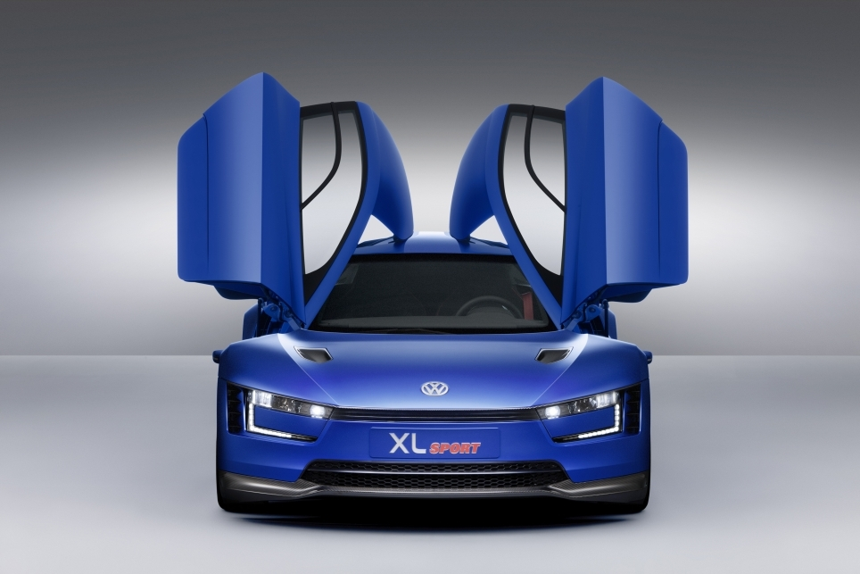 Volkswagen XL Sport Concept - Mondial 2014 - Photo n°4