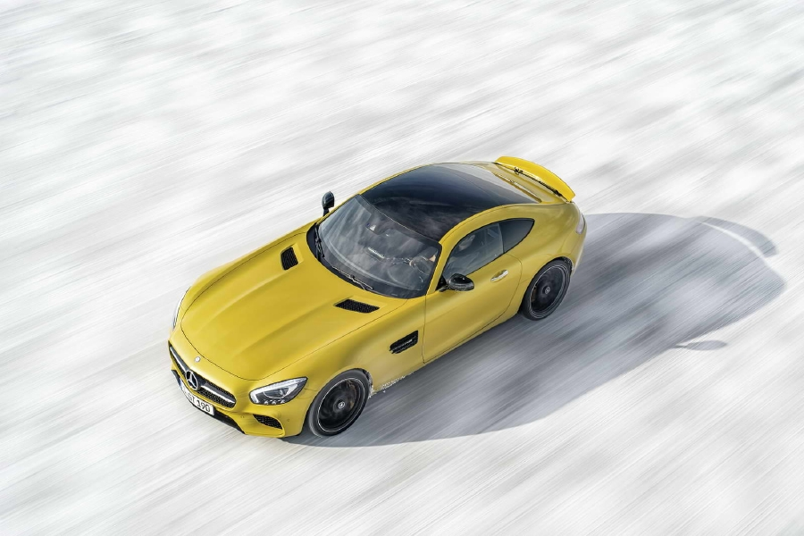 20 nouvelles photos de la Mercedes AMG-GT - Photo n°4
