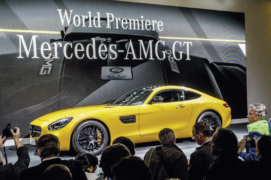 20 nouvelles photos de la Mercedes AMG-GT - Photo n°6