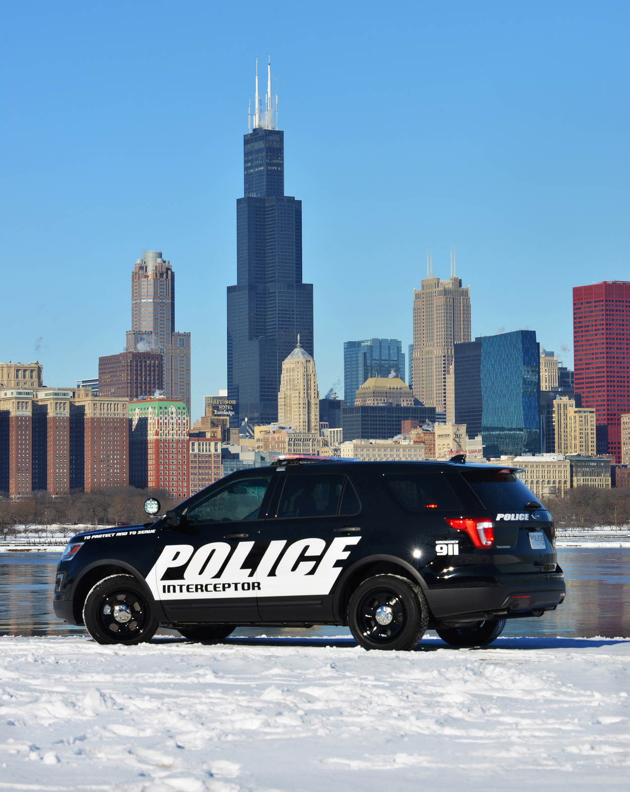 To protect and to serve, le nouveau Ford Interceptor Utility. - Photo n°2