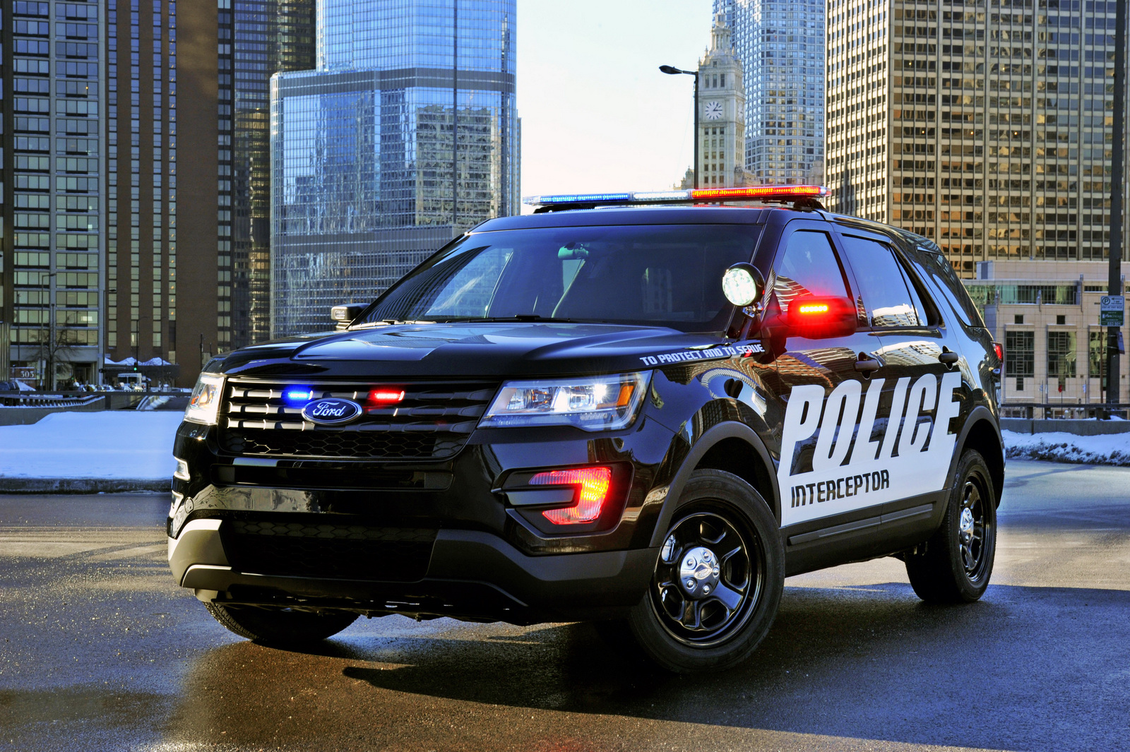 To protect and to serve, le nouveau Ford Interceptor Utility. - Photo n°3