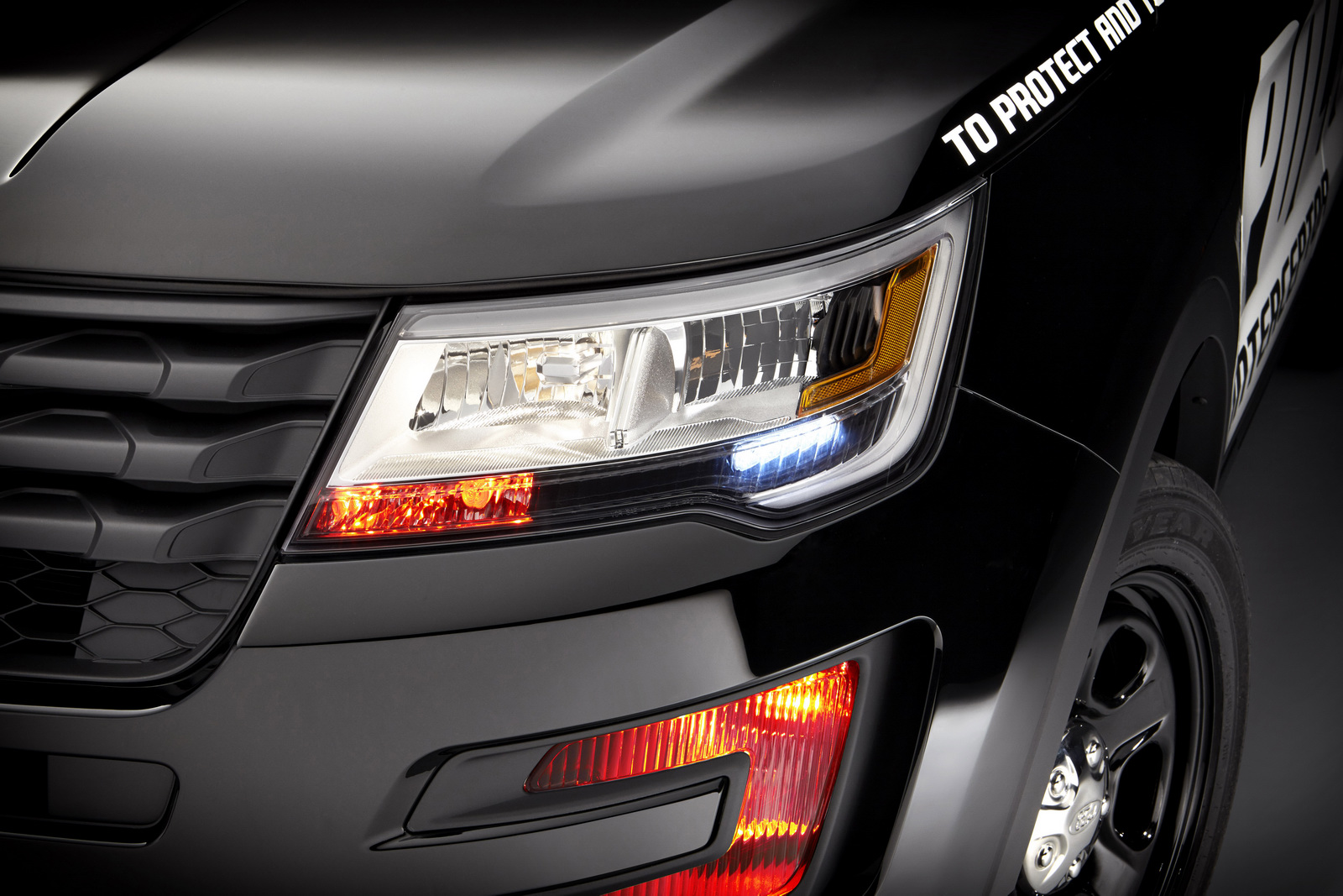 To protect and to serve, le nouveau Ford Interceptor Utility. - Photo n°4