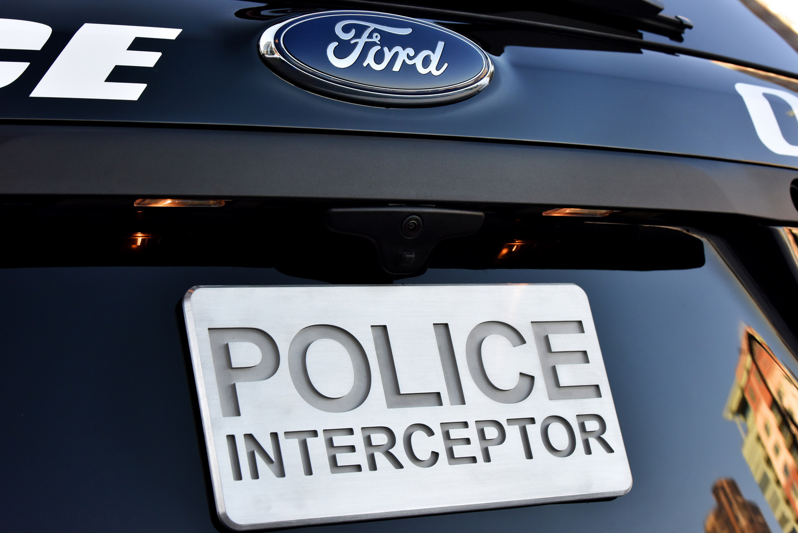 To protect and to serve, le nouveau Ford Interceptor Utility. - Photo n°5