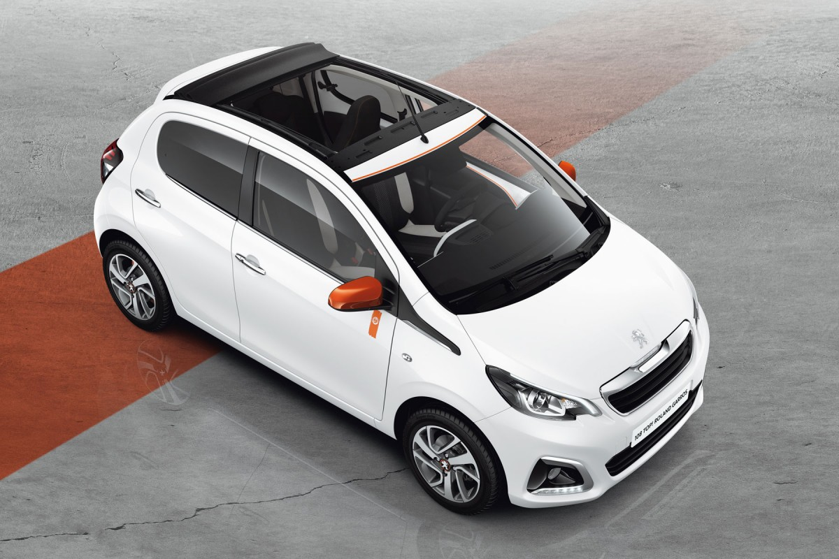 Peugeot 108 Roland Garros : Tradition - Photo n°1