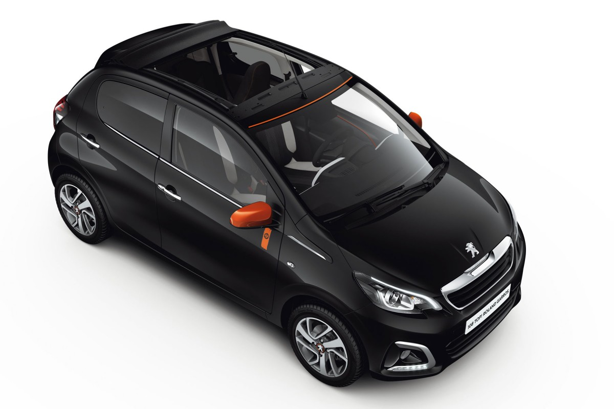Peugeot 108 Roland Garros : Tradition - Photo n°5