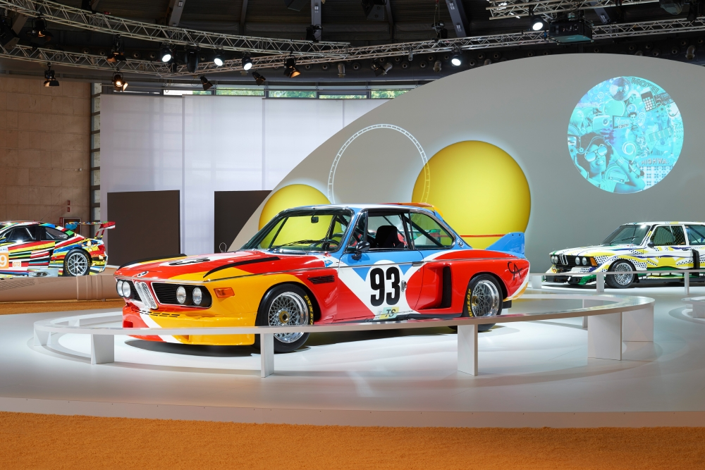 40 ans d'Art Cars BMW à la Villa d'Este - Photo n°2