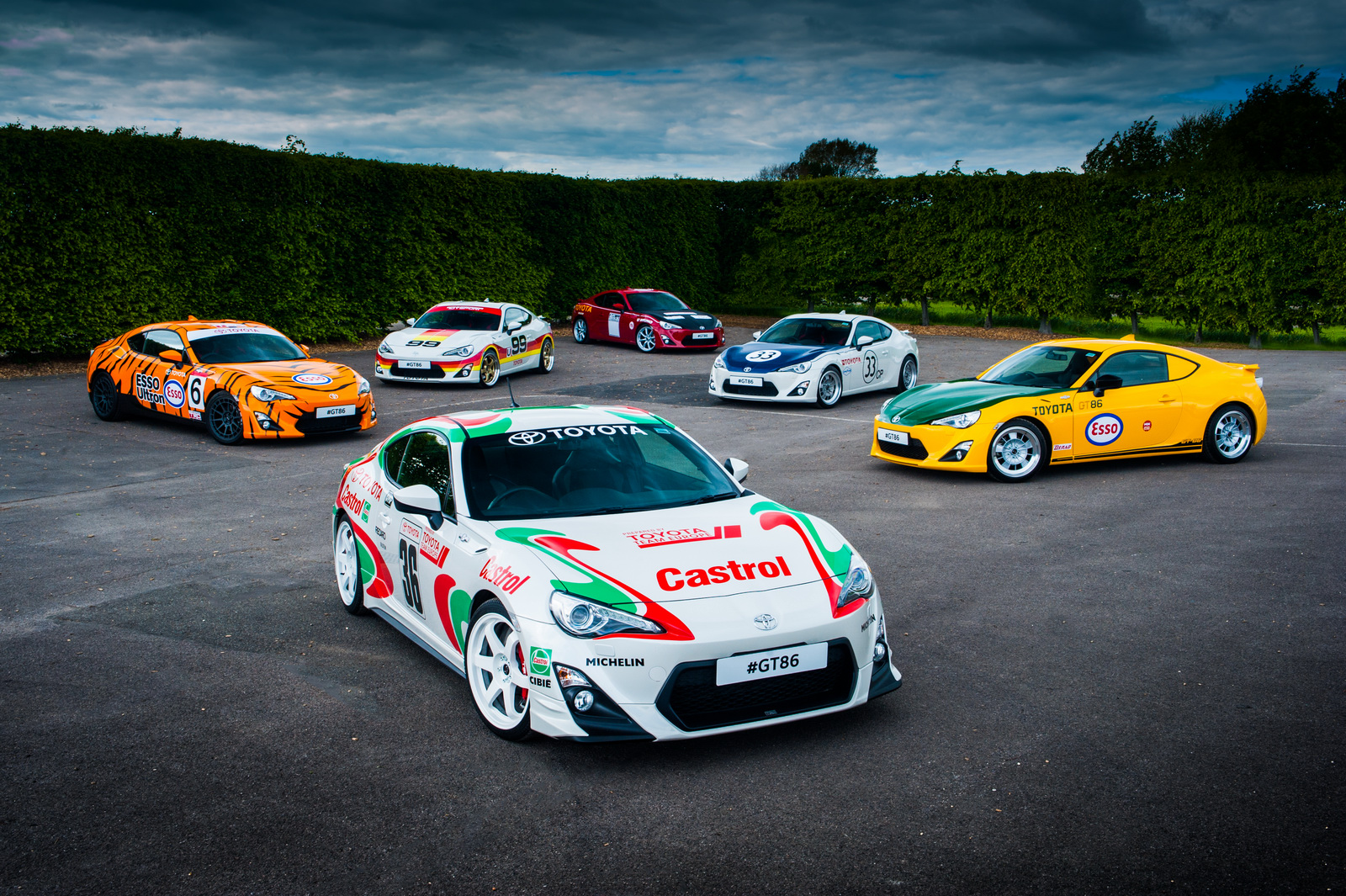 Des Toyota GT86 en robes d'époque - Photo n°1