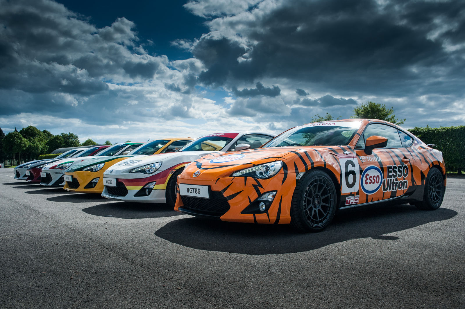 Des Toyota GT86 en robes d'époque - Photo n°3