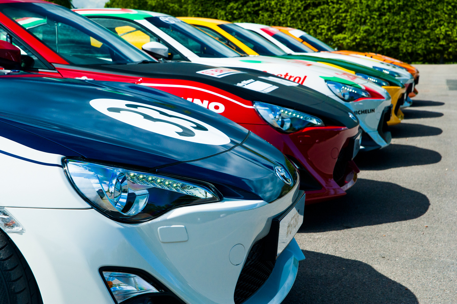 Des Toyota GT86 en robes d'époque - Photo n°4