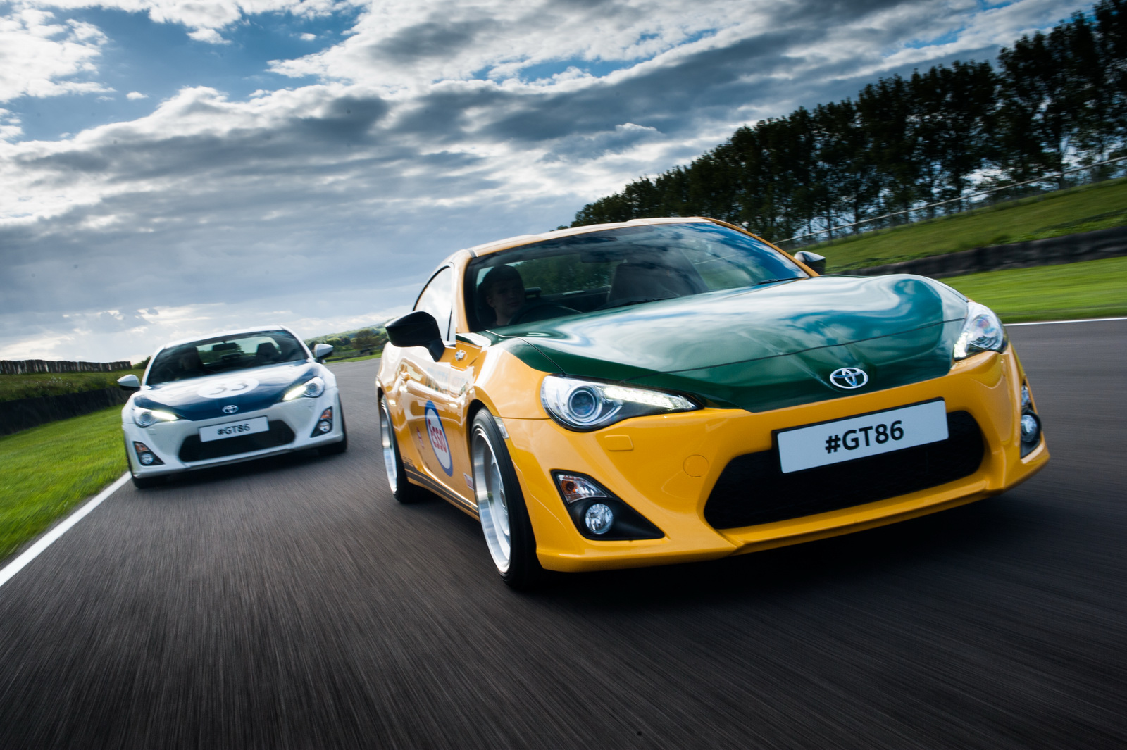 Des Toyota GT86 en robes d'époque - Photo n°8