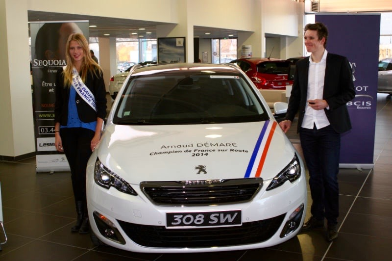 Peugeot ABCIS accompagne Arnaud Démare  - Photo n°3