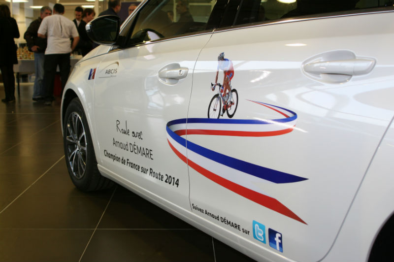 Peugeot ABCIS accompagne Arnaud Démare  - Photo n°6