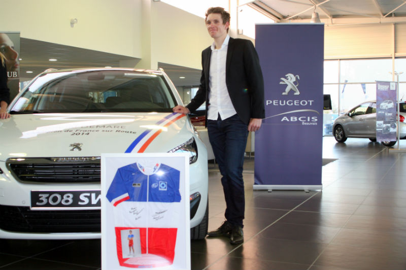 Peugeot ABCIS accompagne Arnaud Démare  - Photo n°8