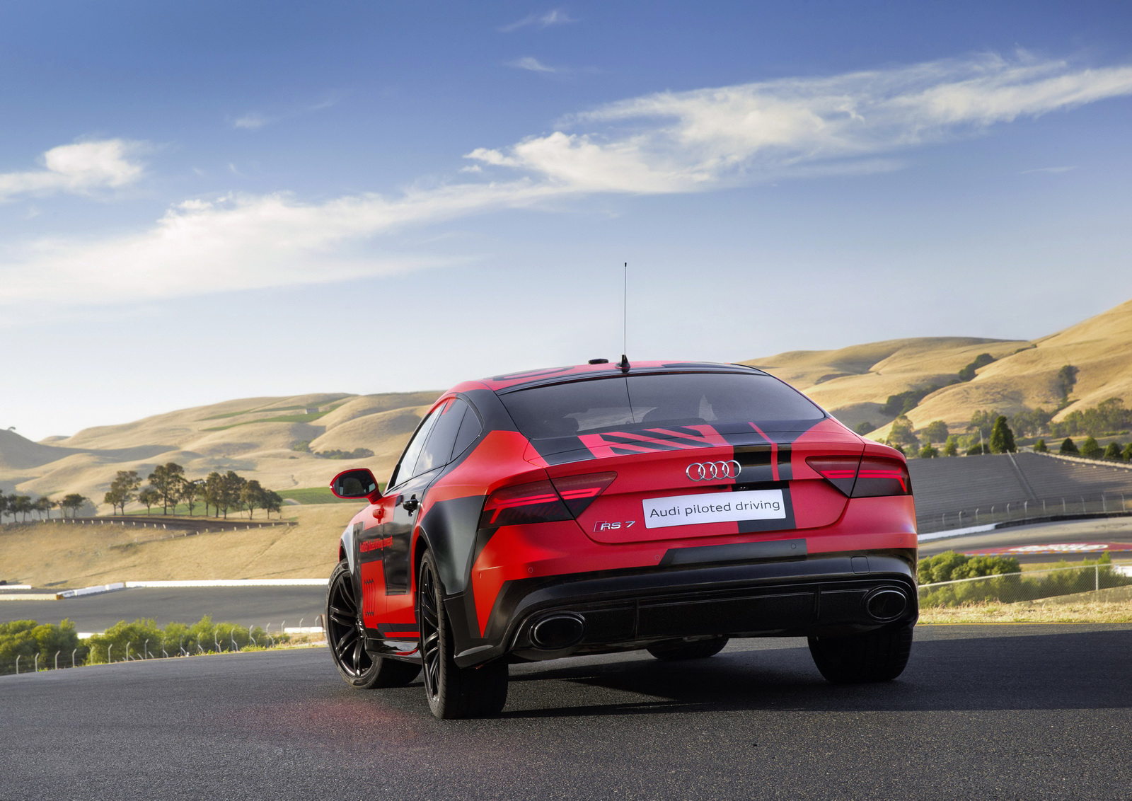 Des nouvelles de la RS7 Piloted Driving - Photo n°1