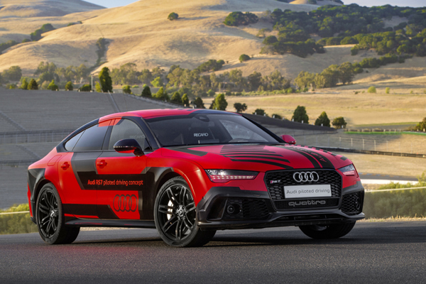 Des nouvelles de la RS7 Piloted Driving - Photo n°2