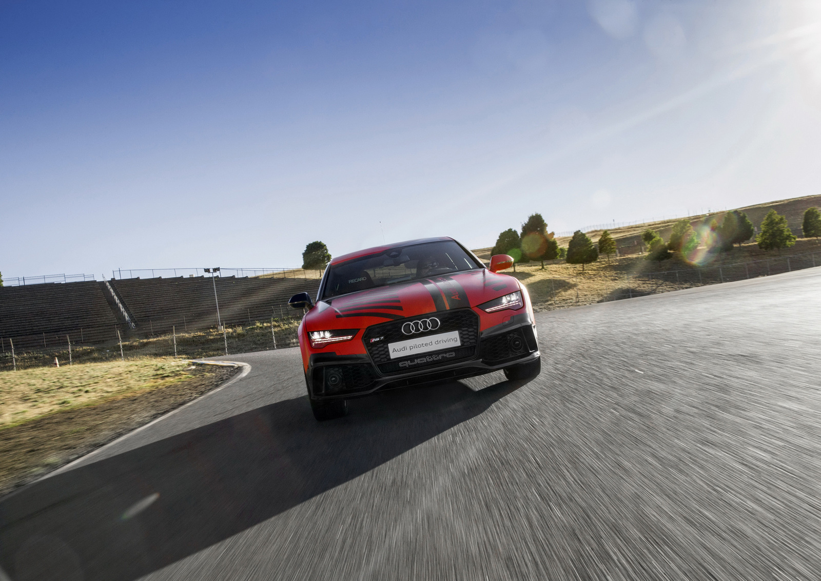 Des nouvelles de la RS7 Piloted Driving - Photo n°8