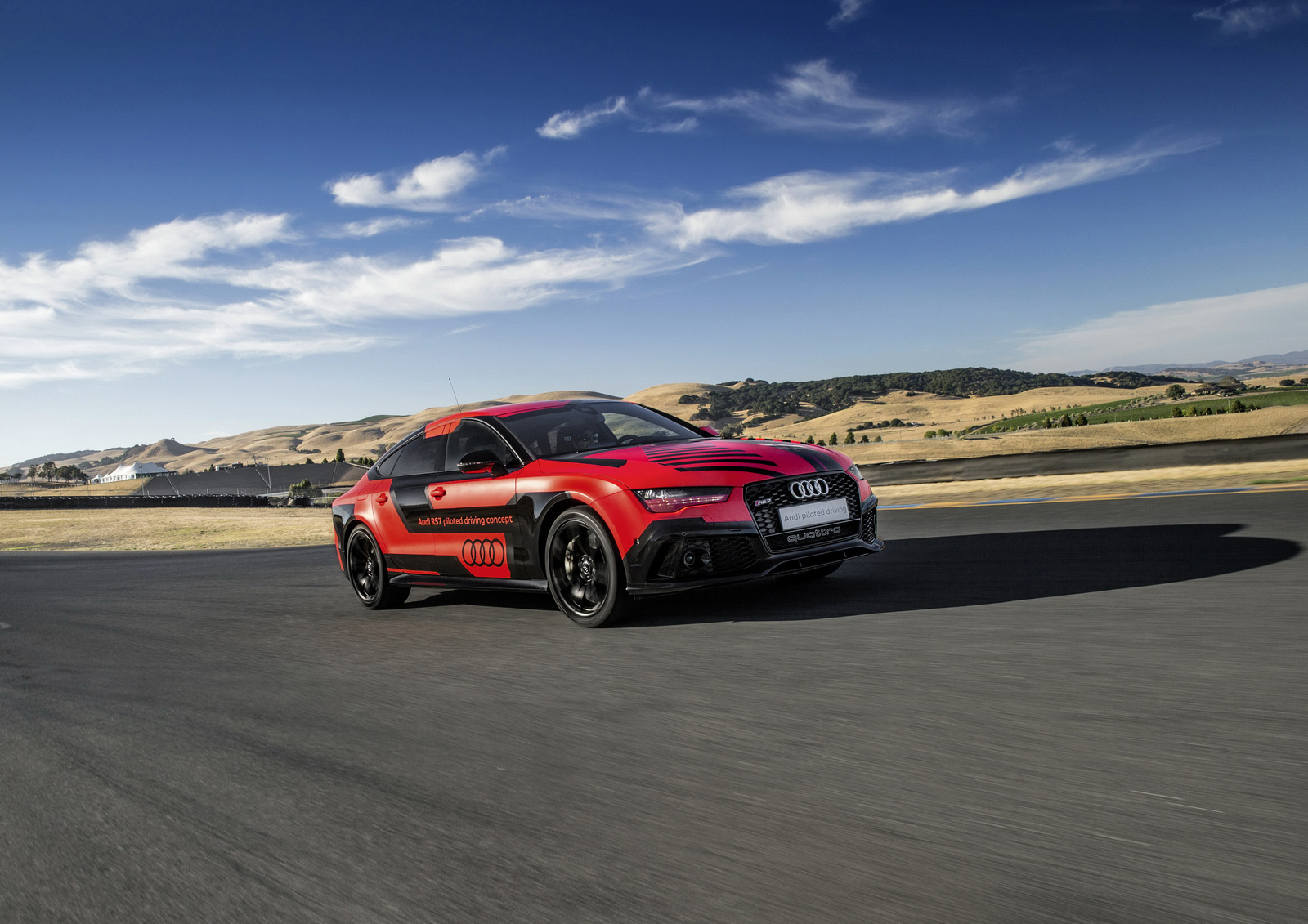 Des nouvelles de la RS7 Piloted Driving - Photo n°9