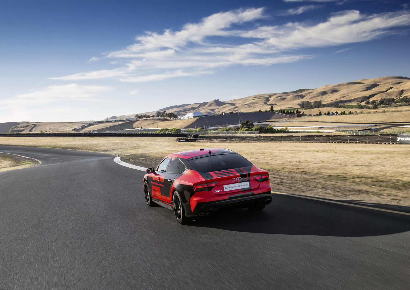 Des nouvelles de la RS7 Piloted Driving - Photo n°10