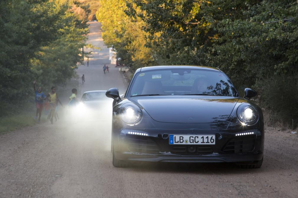 La 911 restylée avec des spy shots officiels !  - Photo n°4