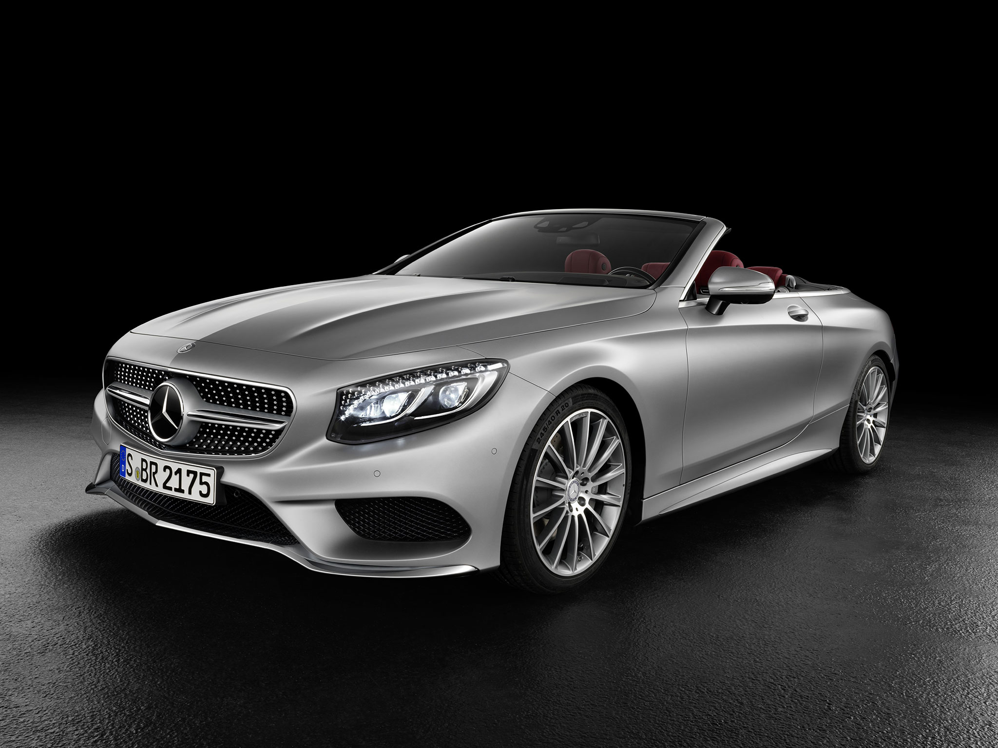 Mercedes Classe S cabriolet : Grand luxe ! - Photo n°1