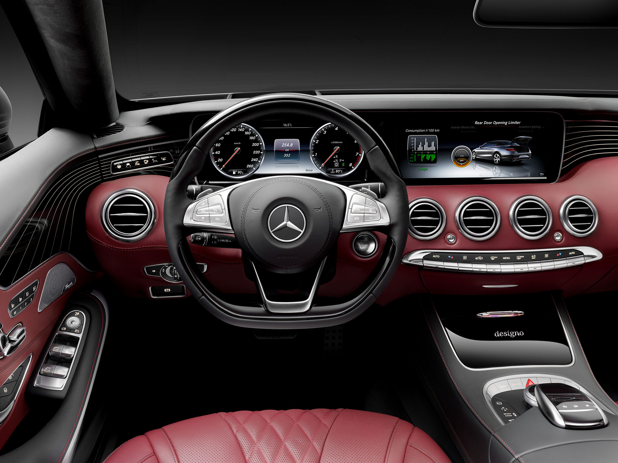 Mercedes Classe S cabriolet : Grand luxe ! - Photo n°14