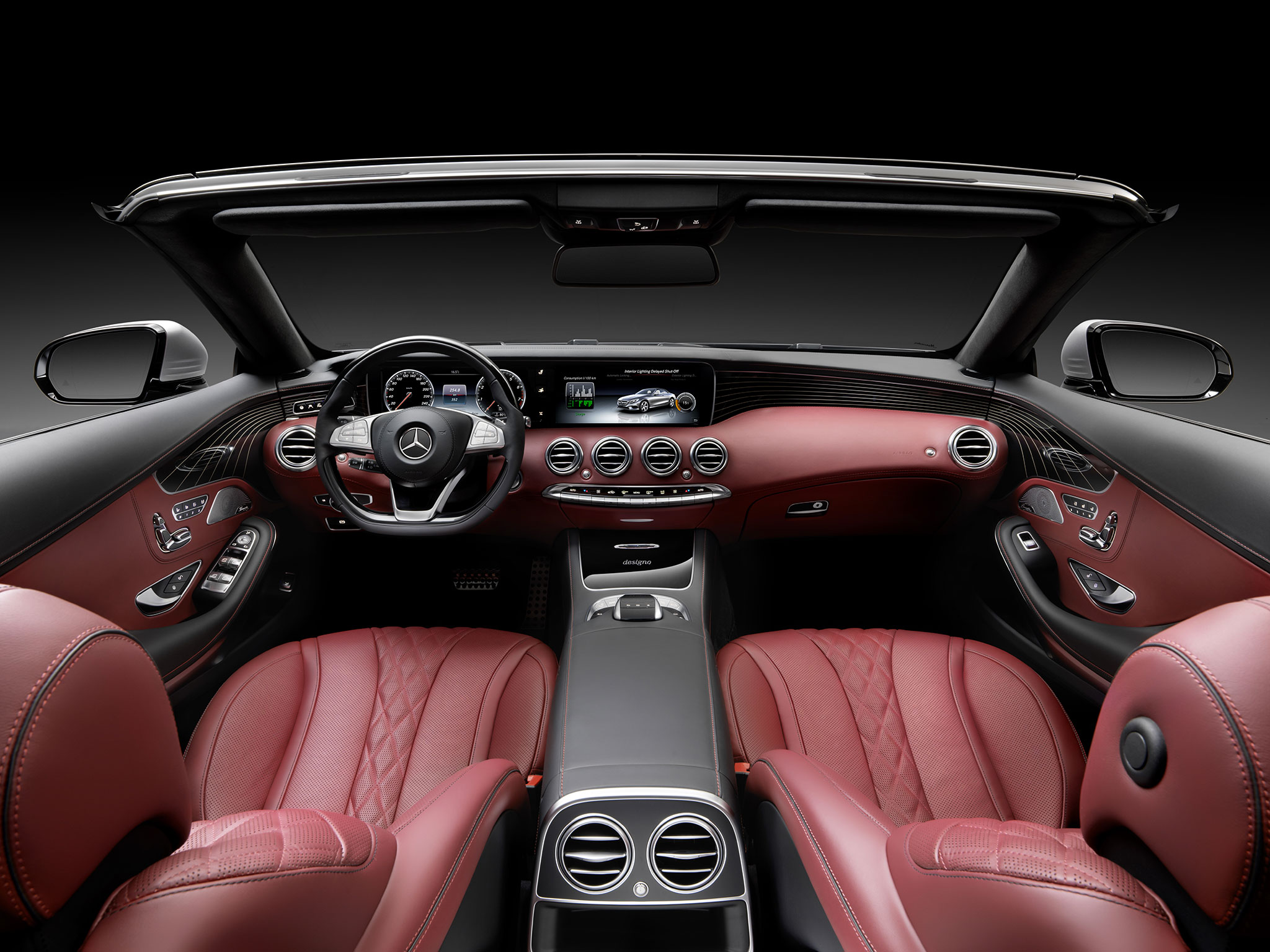 Mercedes Classe S cabriolet : Grand luxe ! - Photo n°15