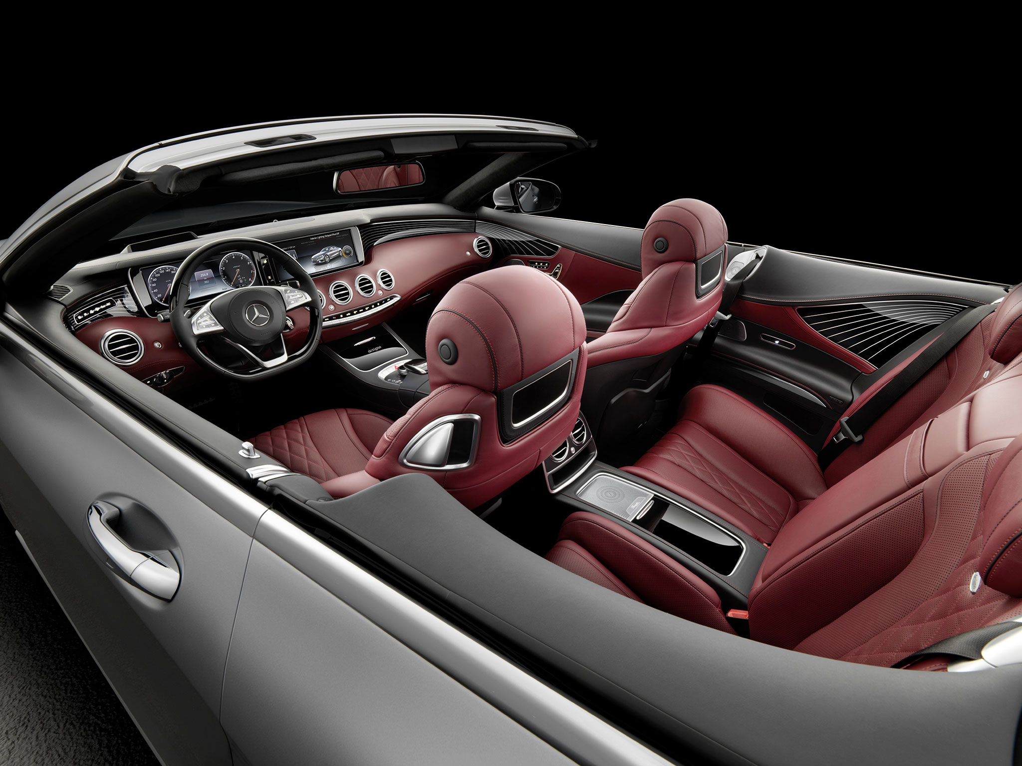 Mercedes Classe S cabriolet : Grand luxe ! - Photo n°16
