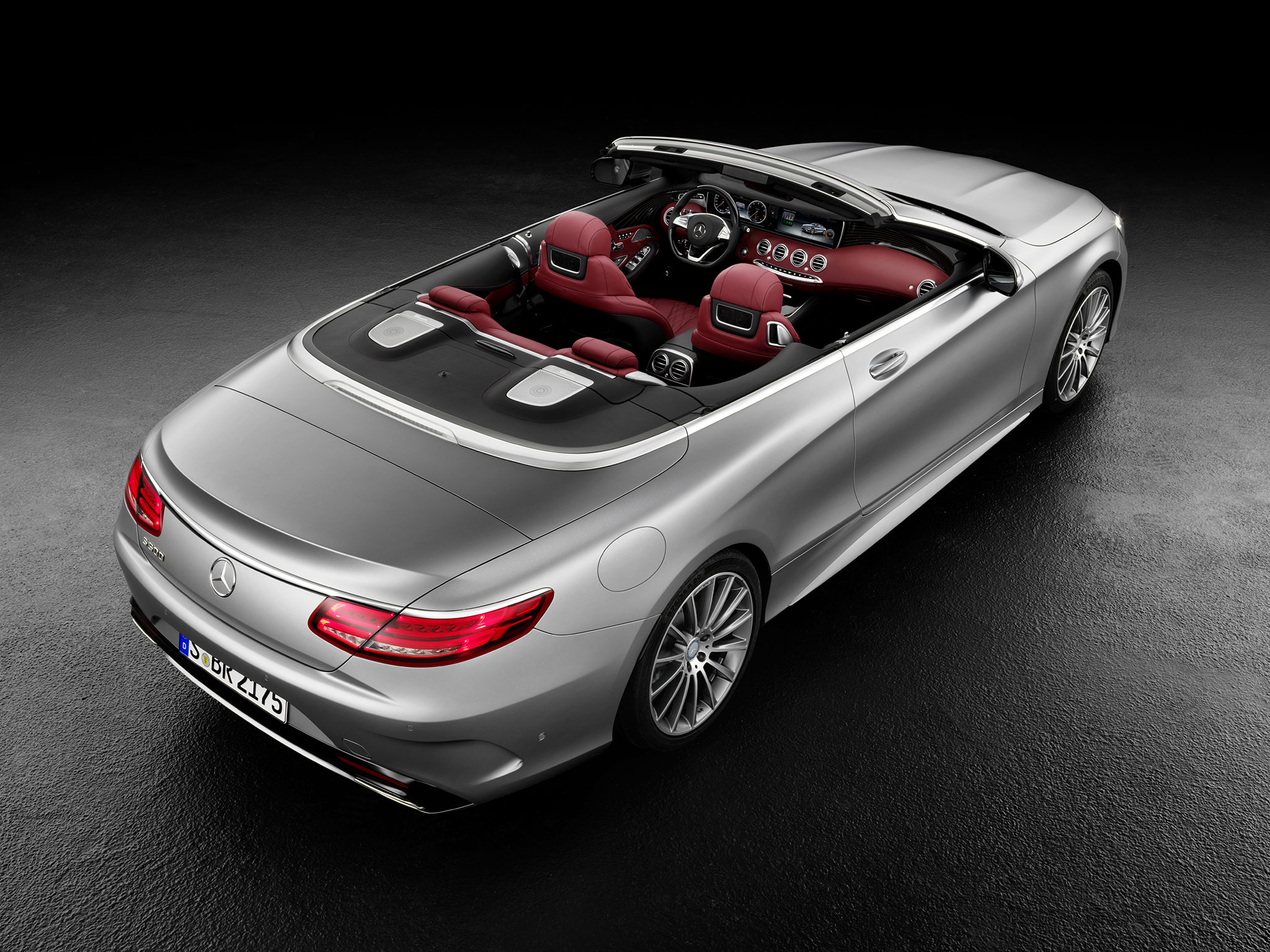 Mercedes Classe S cabriolet : Grand luxe ! - Photo n°5