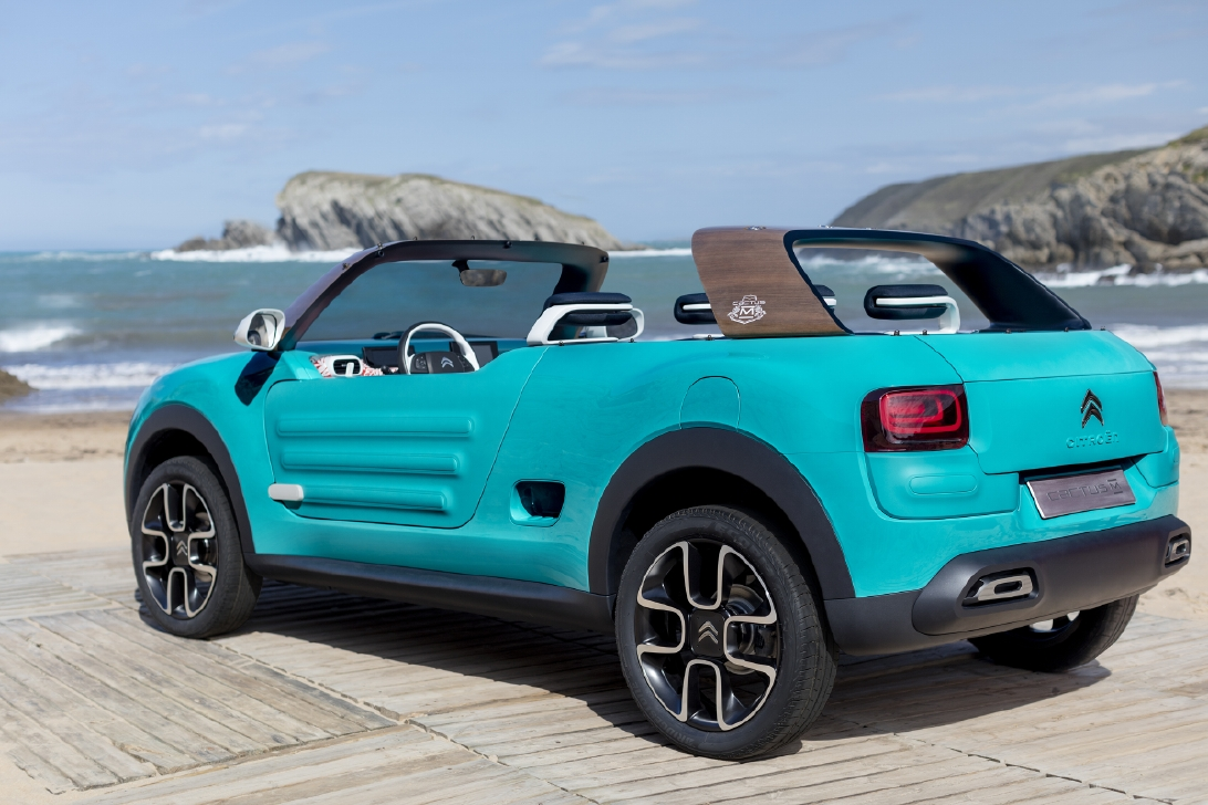 Citroën Cactus M concept : Explication de texte - Photo n°1