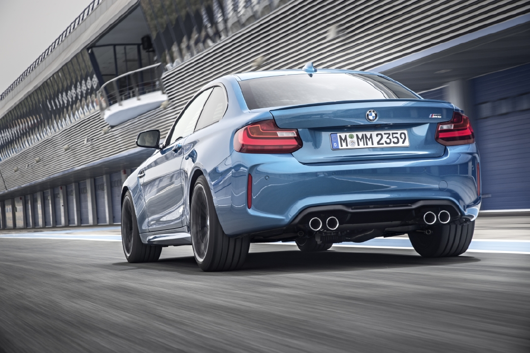 BMW M2 : Pour la piste ! - Photo n°17