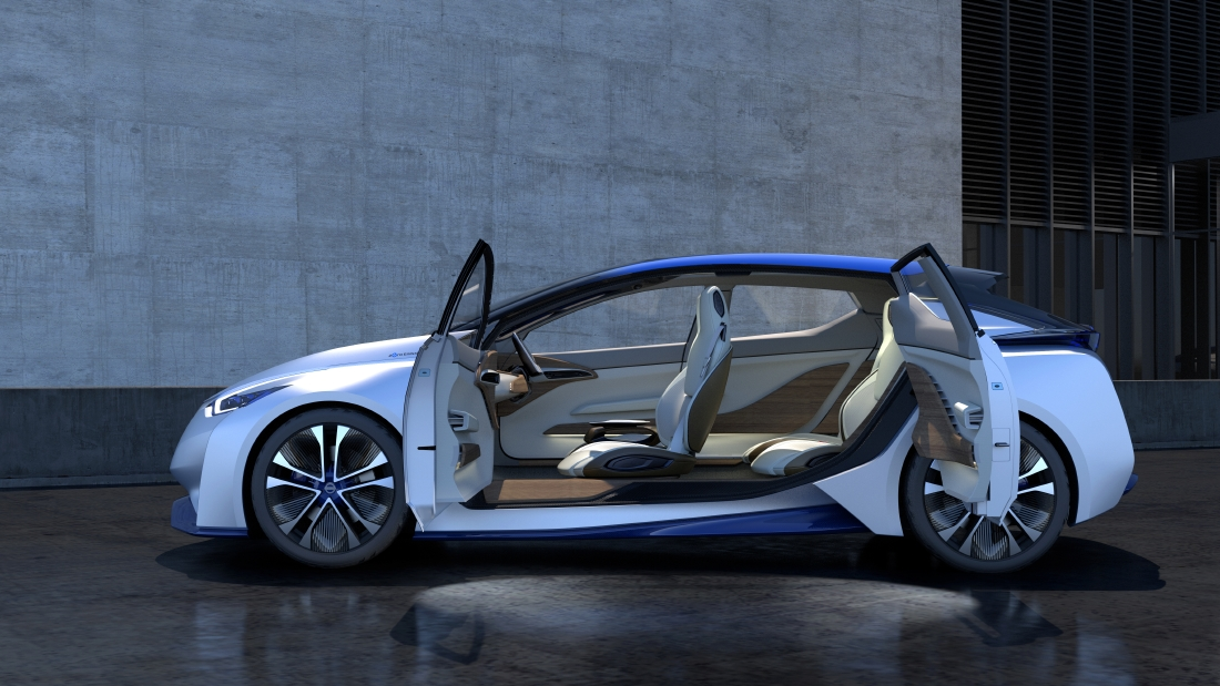 Nissan IDS Concept : Futur optimiste - Photo n°5