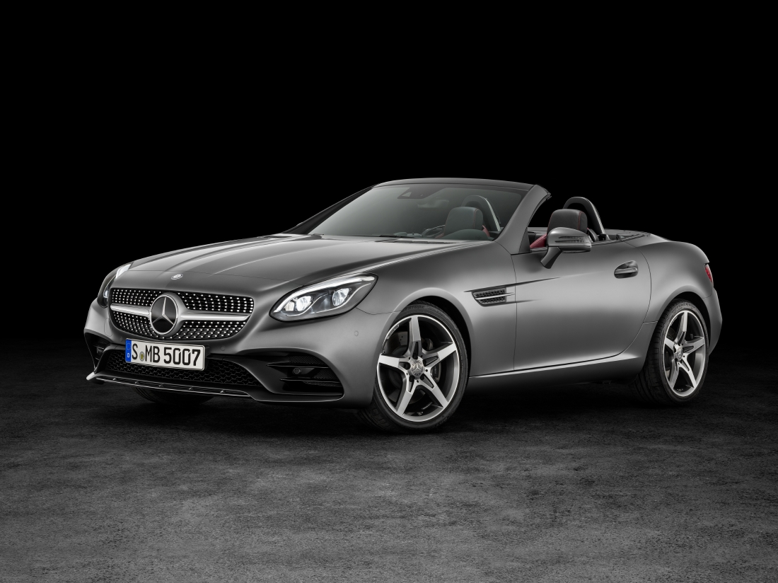 Victime du downsizing : Mercedes SLC - Photo n°1