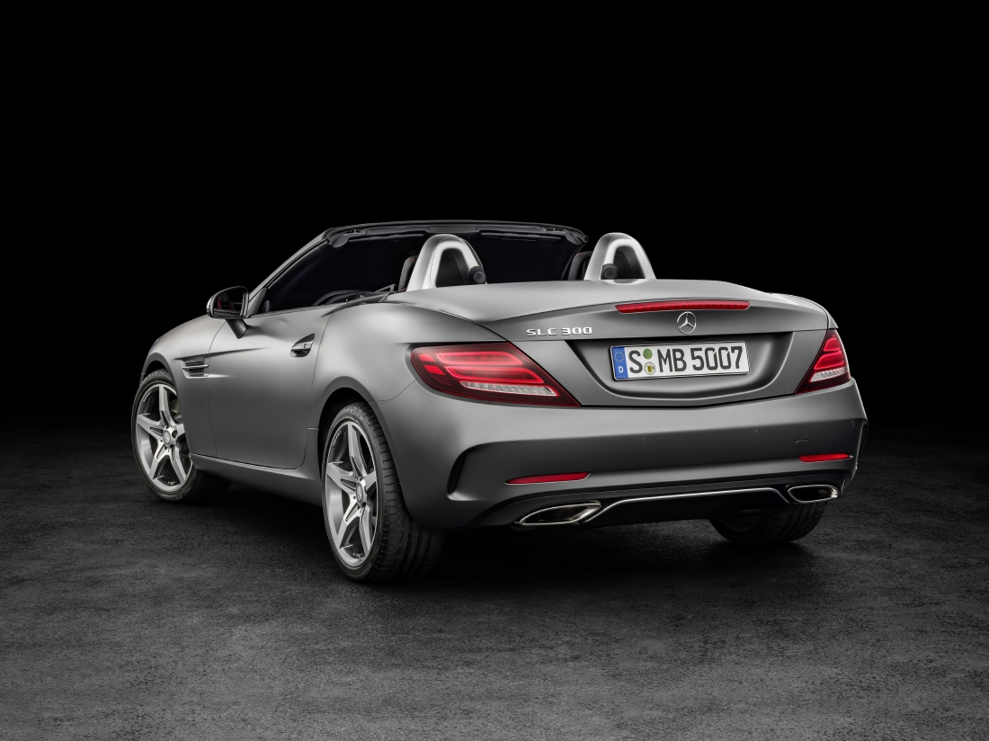 Victime du downsizing : Mercedes SLC - Photo n°2