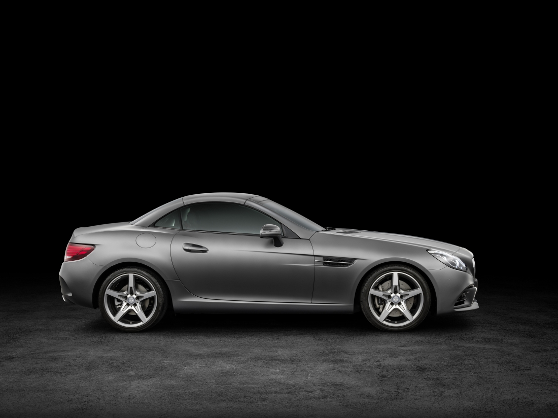 Victime du downsizing : Mercedes SLC - Photo n°3