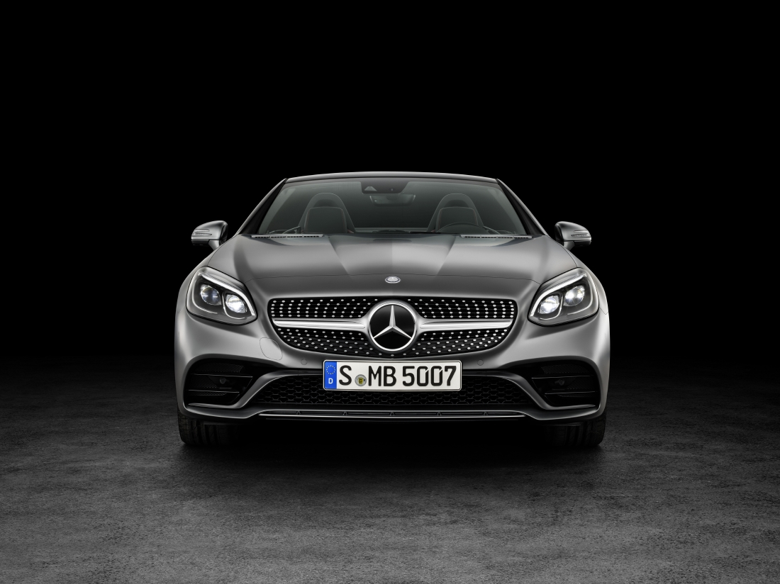 Victime du downsizing : Mercedes SLC - Photo n°4