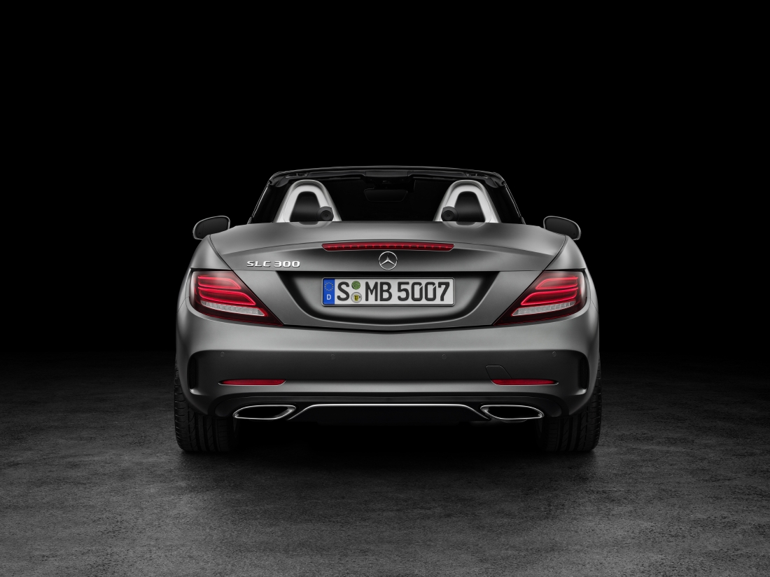 Victime du downsizing : Mercedes SLC - Photo n°5