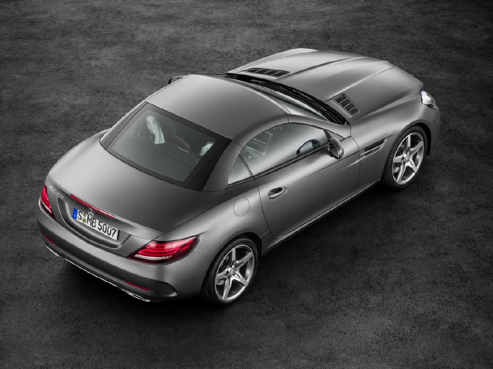Victime du downsizing : Mercedes SLC - Photo n°6