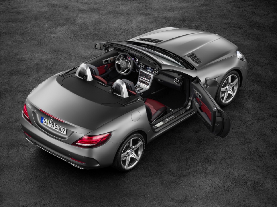 Victime du downsizing : Mercedes SLC - Photo n°7