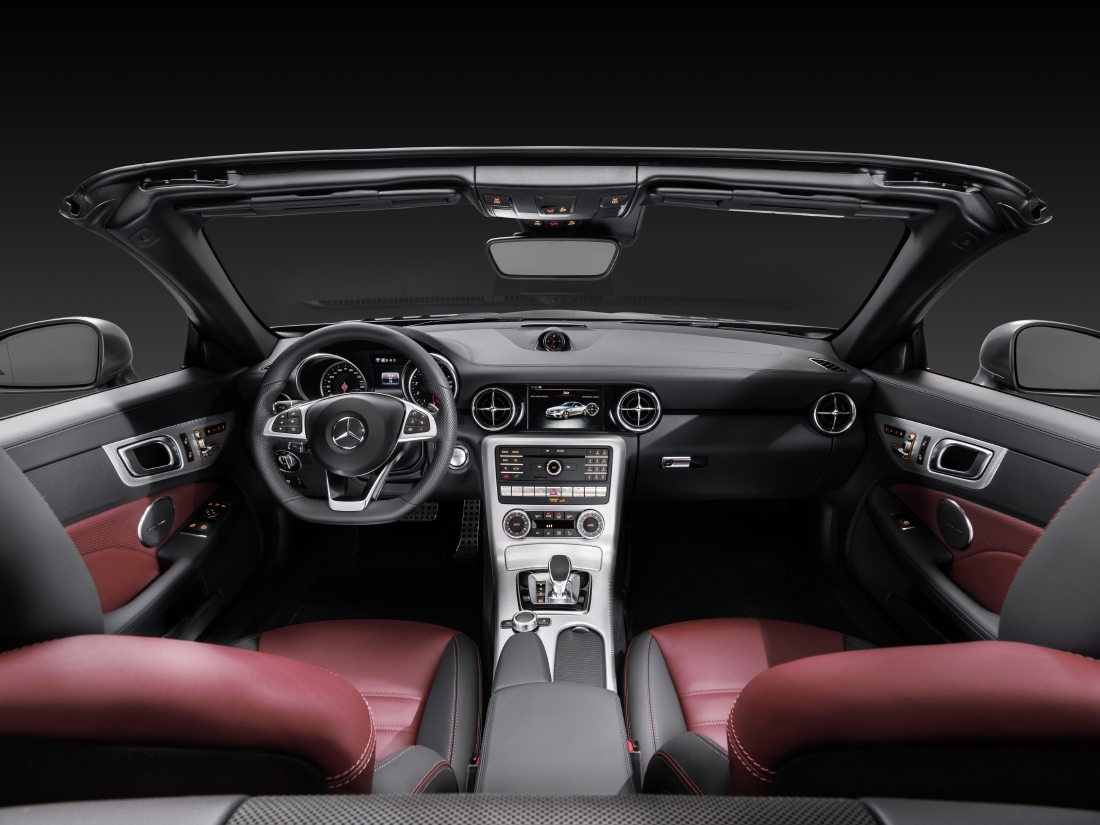 Victime du downsizing : Mercedes SLC - Photo n°8