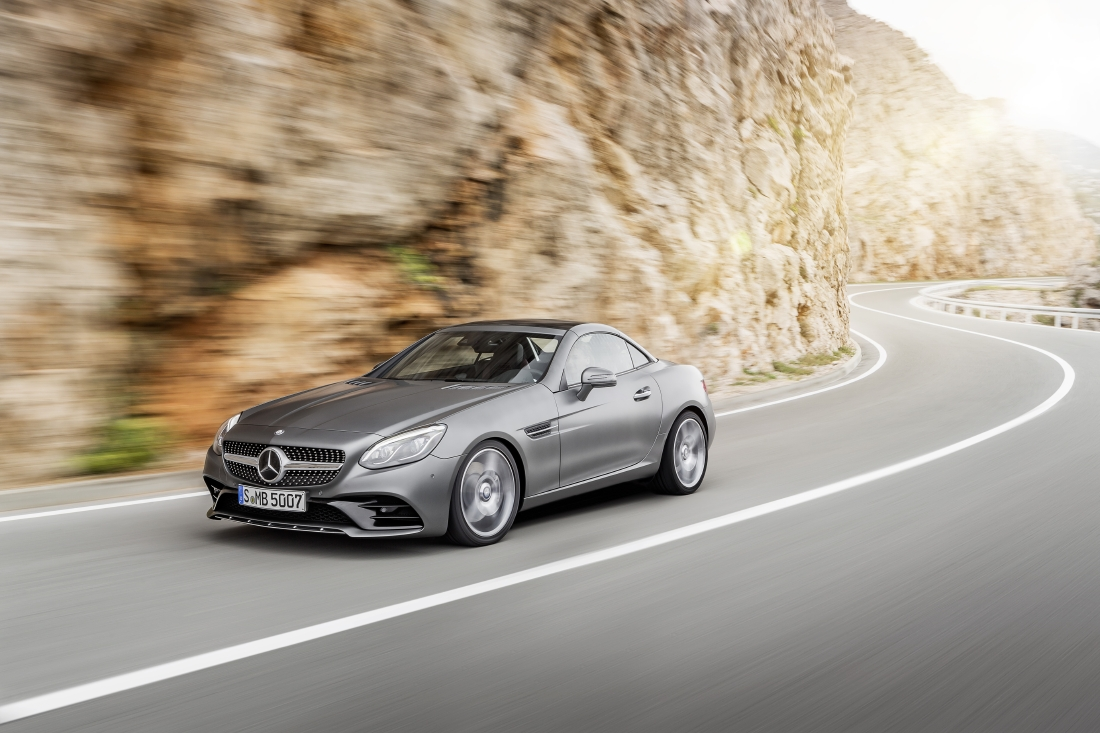 Victime du downsizing : Mercedes SLC - Photo n°10