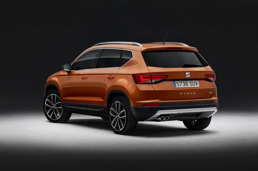 Le premier SUV Seat : l'Ateca - Photo n°4