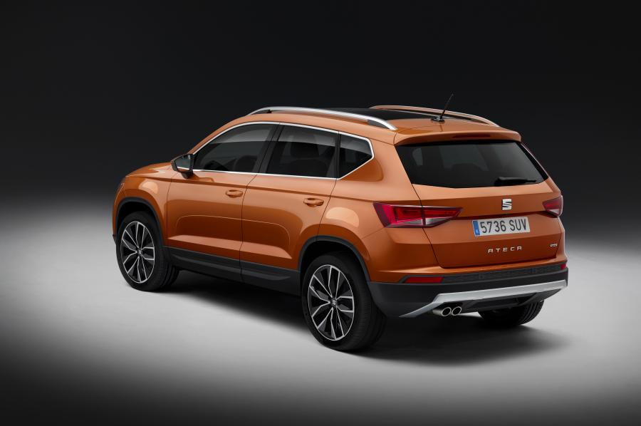 Le premier SUV Seat : l'Ateca - Photo n°5