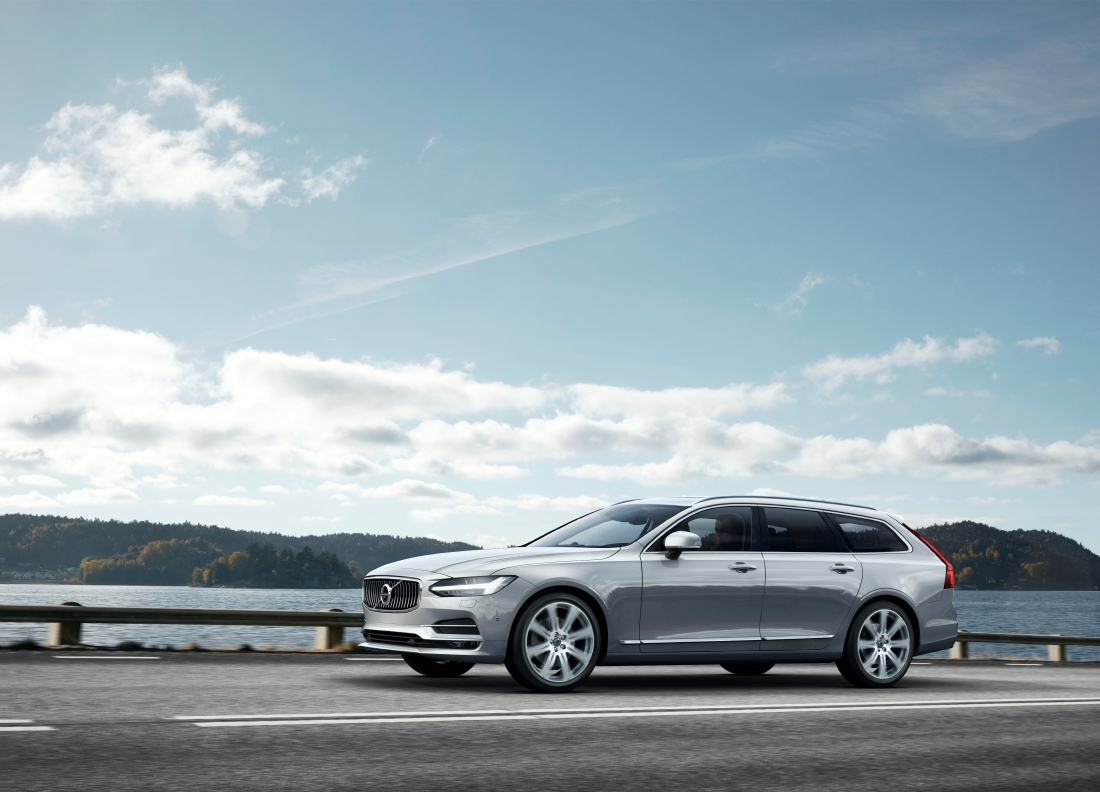Volvo V90 : Le break premium - Photo n°1