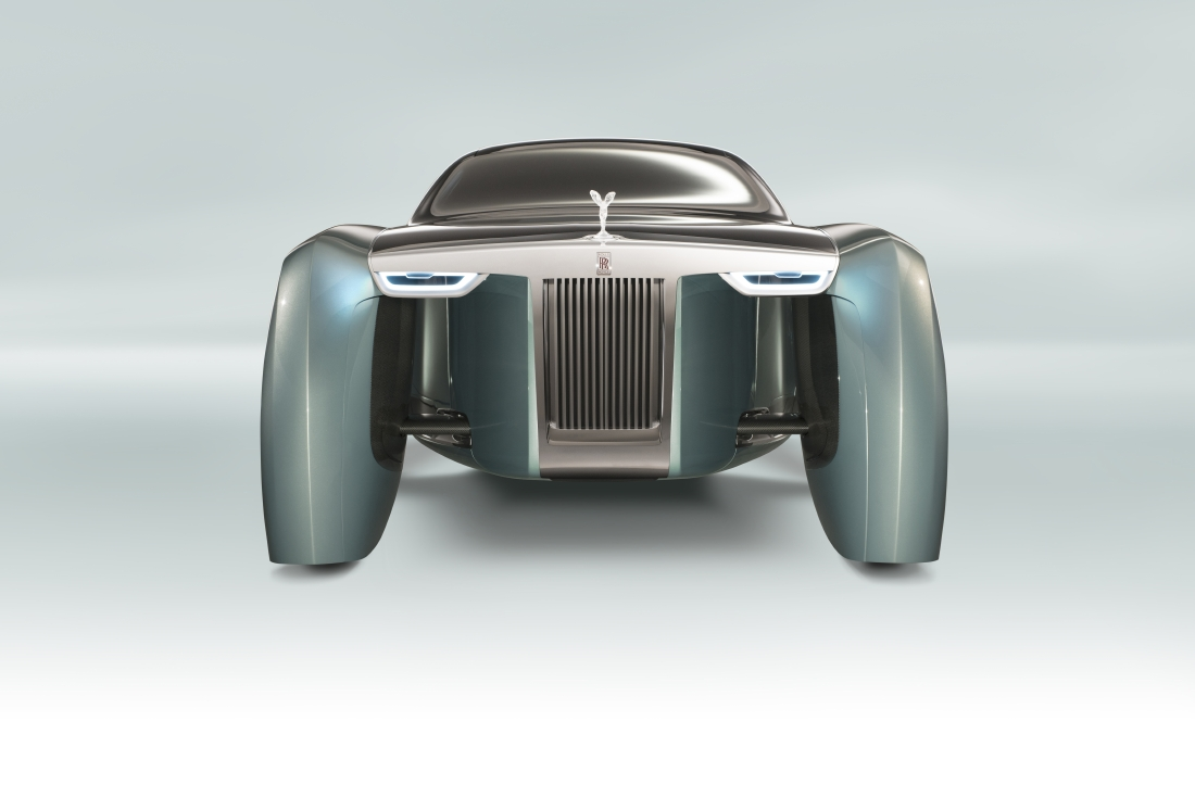 Attention les yeux, voici la Rolls-Royce 103EX ! - Photo n°2