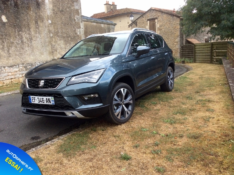 Essai Seat Ateca : Intelligent ! - Photo n°11