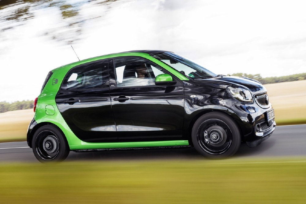 La Smart Forfour électrique débarque à Paris - Photo n°6