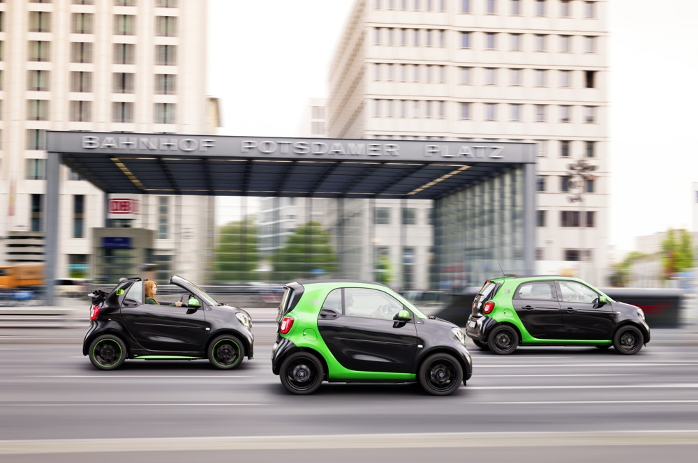 La Smart Forfour électrique débarque à Paris - Photo n°7