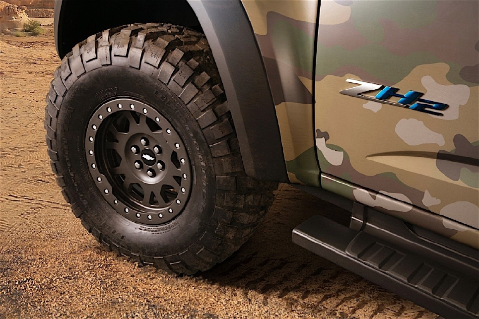 Chevrolet séduit l'US Army avec un pick-up hydrogène - Photo n°3